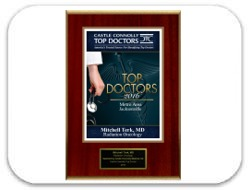 Castle Connolly's 2016 Top Doctors Metro Area Jacksonville Award: Dr. Terk